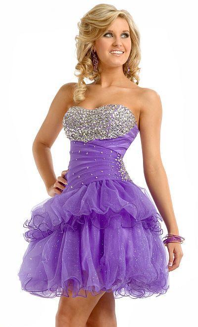 73527239d Fotos de vestidos de 15 años corto y lila - Paperblog ...