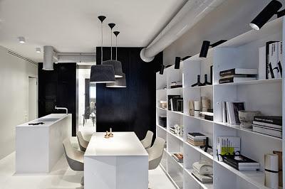 Apartamento moderno y minimalista en kiev paperblog for Apartamentos modernos minimalistas