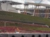muertos derrumbe estadio inaugura mundial fútbol