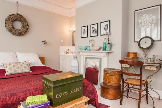 Un luminosos dormitorio de estilo vintage paperblog - Dormitorio estilo vintage ...