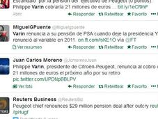 Philippe Varin, Presidente Peugeot-Citroen renuncia indemnización millones
