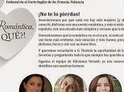 Romántica qué?; Crónica tarde memorable. Valencia, noviembre 2013