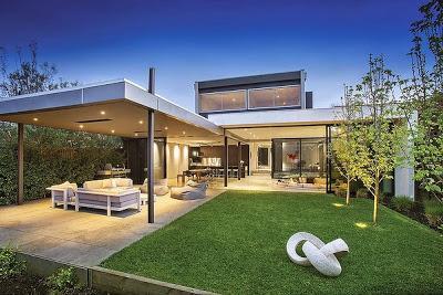 Casa moderna en brighton paperblog for Casa moderna l