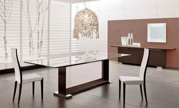 La elegancia y belleza de las nuevas mesas de comedor - Paperblog