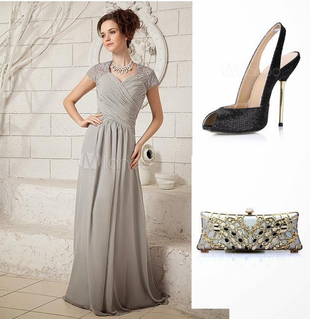 Vestidos y zapatos fiesta