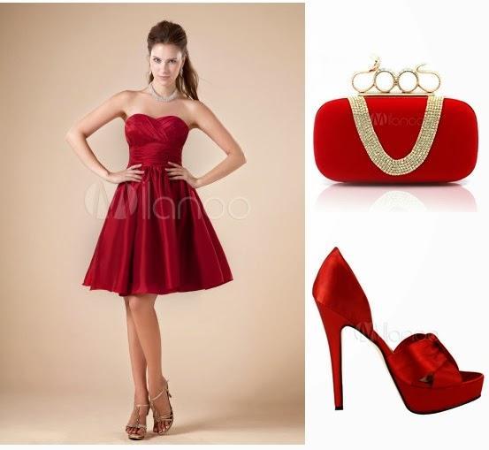 Fotos de vestidos de fiestas y zapatos