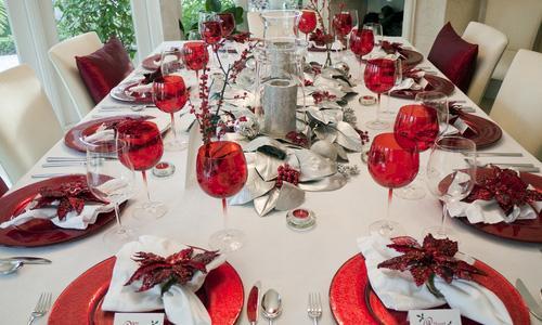 Decora tu restaurante en navidad paperblog - Como adornar la mesa en navidad ...