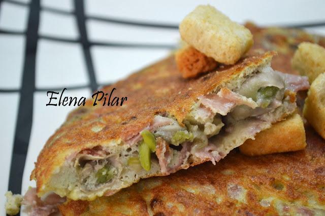 Tortilla de habas frescas con jam n paperblog - Habas frescas con jamon ...