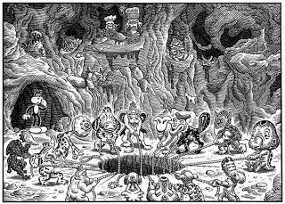 De lo barroco, lo grotesco y el underground (II).