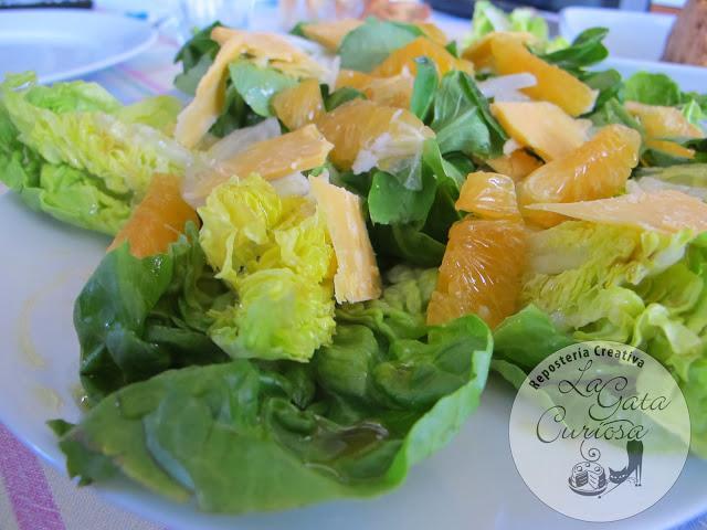 Ensalada de canonigos con mandarinas paperblog - Ensaladas con canonigos ...