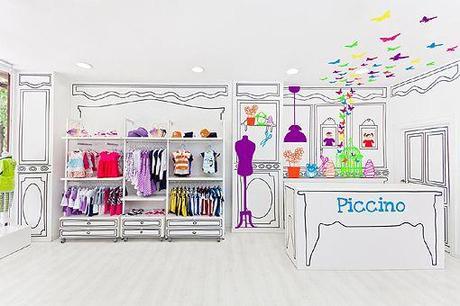 Decoración para tienda infantil Piccino 01