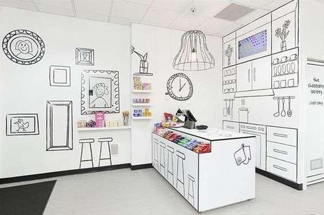 Decoración tienda golosinas - The Candy Room. 02jpg