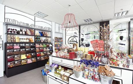 Decoración tienda golosinas - The Candy Room. 03