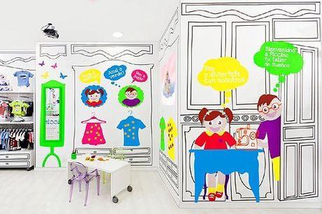 Decoración para tienda infantil tienda Piccino
