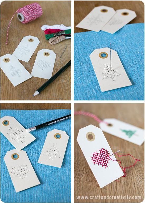 Diy tarjetas de navidad a punto de cruz paperblog - Ideas para regalar en reyes ...