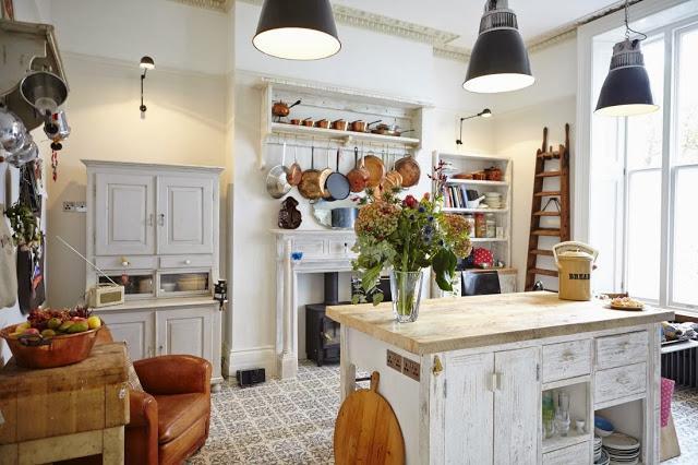 Cocina brit nica de estilo campestre paperblog for Cocinas campestres