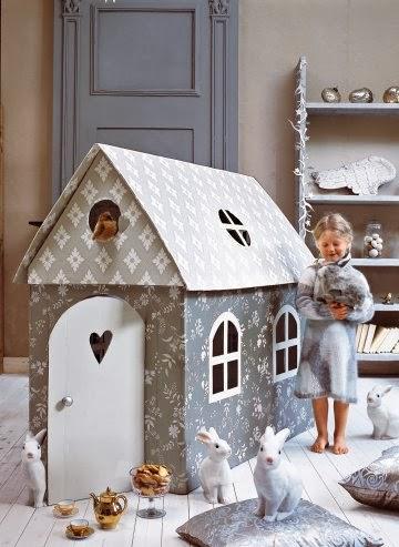 ideas para regalar casas de carton paperblog. Black Bedroom Furniture Sets. Home Design Ideas