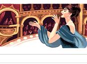 Doodle aniversario nacimiento María Callas