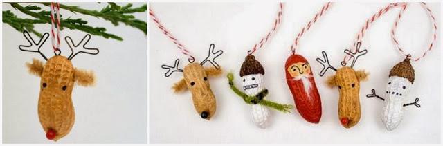 Decoraciones para el rbol de navidad diy paperblog for Adornos para arbol de navidad caseros