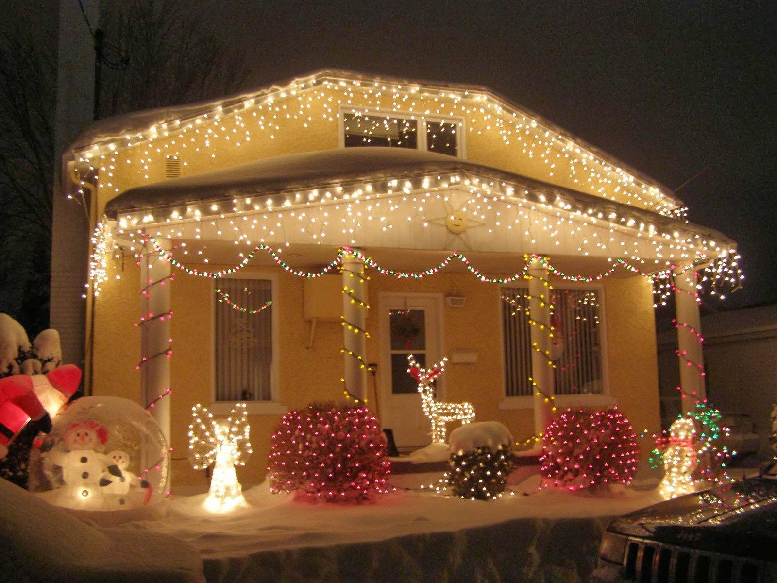Las luces en navidad paperblog - Decoracion luces navidad ...