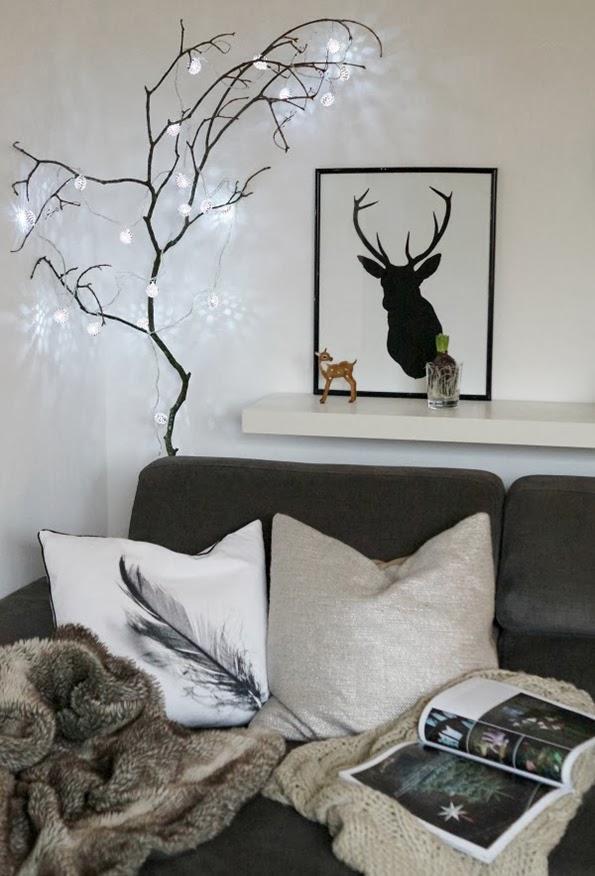 Insp rate 5 opciones de decorar tu rbol de navidad de - Ramas de arbol para decoracion ...