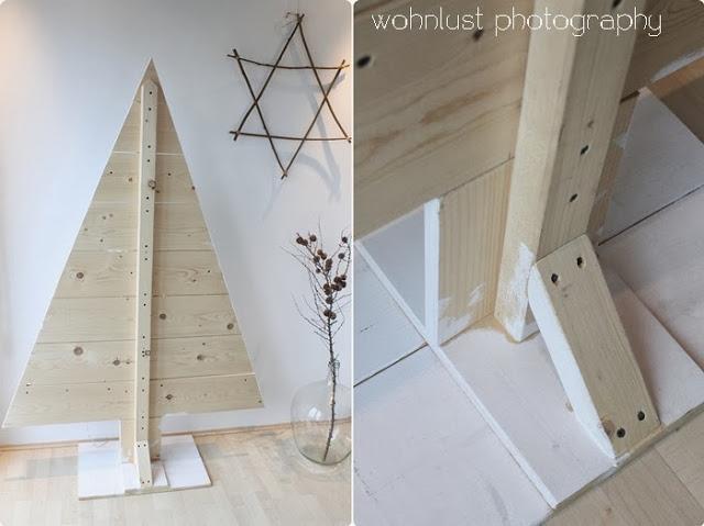 Diy navidad rbol de madera paperblog - Arboles de navidad de madera ...