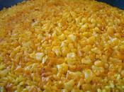 Paella bacalao coliflor
