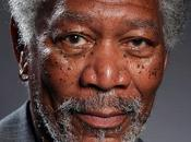 Impresionante retrato Morgan Freeman dibujado Ipad