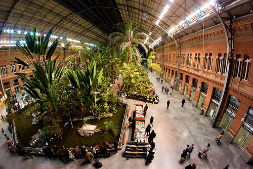 Atocha railway station Madrid