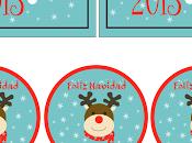Etiquetas navidad gratis. free christmas label