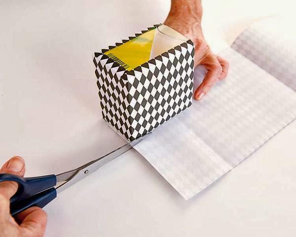 Diy divertidas cajas forradas para la cocina paperblog - Cajas para cocina ...