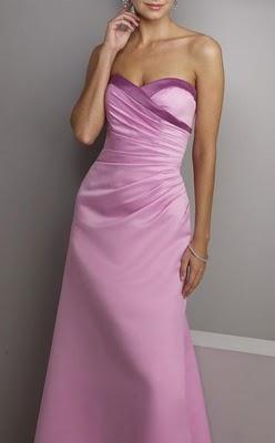 Casamiento violeta I: El vestido