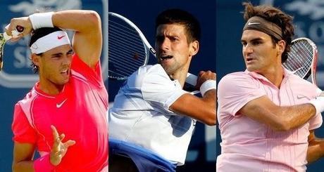 Masters 1000: Nadal, Djokovic y Federer, a semifinales