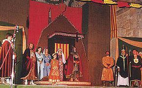 Campo de Mirra. Fiestas Patronales 2010 - Representación del Tratado de Almizra - Moros y Cristianos