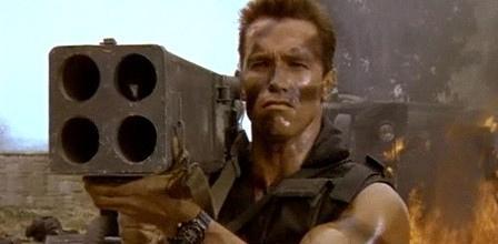 """Remakes de películas para """"machos"""": Comando y Juez Dredd. - Paperblog"""