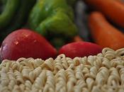 Tallarines verduras