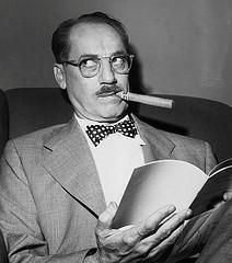 In Memoriam: 33 años sin Groucho Marx.