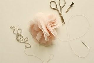 Cómo hacer vos misma flores de gasa o tul