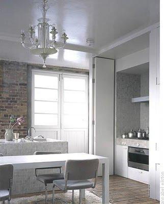 Mosaico de piedra de cristal y de azulejo entre - Tamano azulejos cocina ...