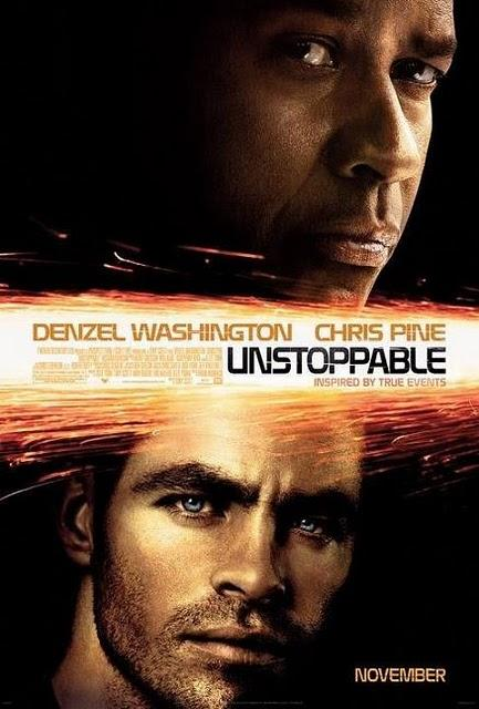 Poster de Unstoppable. Lo nuevo de Tony Scott con Denzel Washington