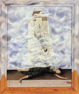 'El suicidio de Dorothy Hale', por Frida Kahlo