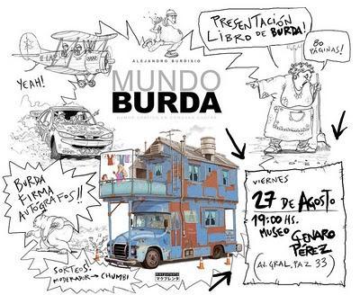 MUNDO BURDA: PRESENTACION DEL LIBRO