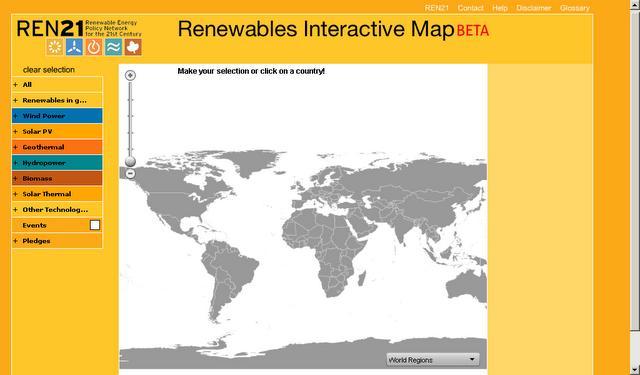 Infografías sobre el consumo energético mundial y datos de renovables
