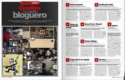 EL blog en la revista Cinemanía