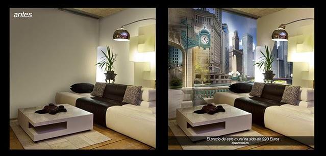 Decora tus paredes con fotomurales de vinilo paperblog - Decorar con fotomurales ...