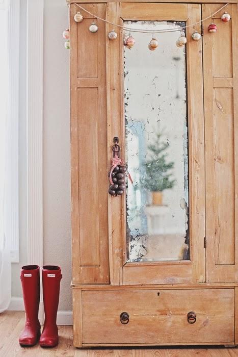 Decoracion navide a shabby chic con puertas viejas for Decoracion puertas vintage