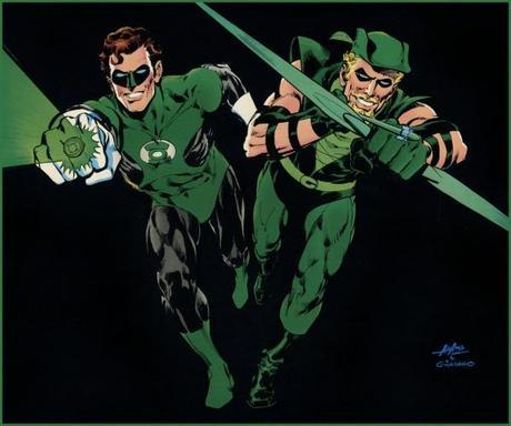 adams green lantern green arrow
