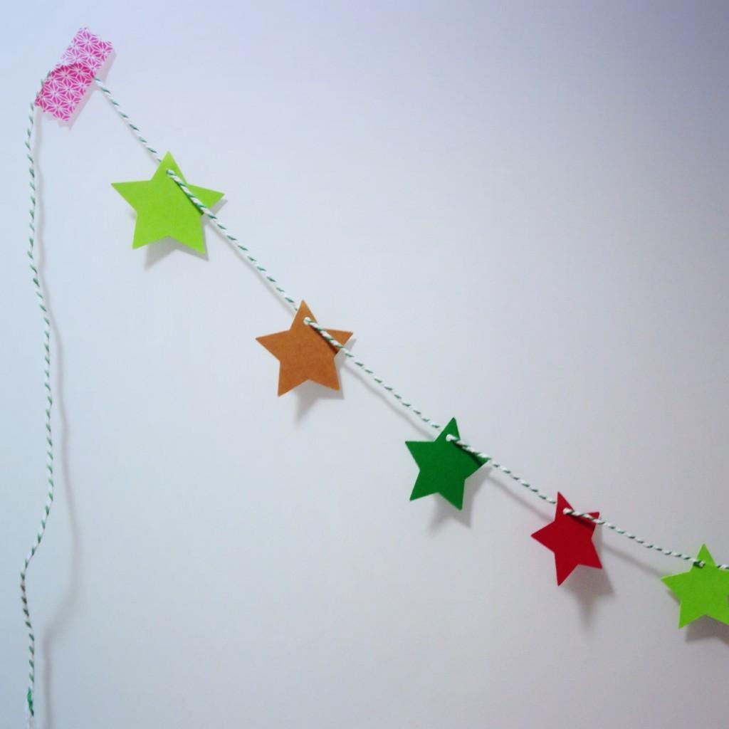 Diy un rbol de navidad f cil f cil para hacer con los - Estrella para arbol de navidad ...