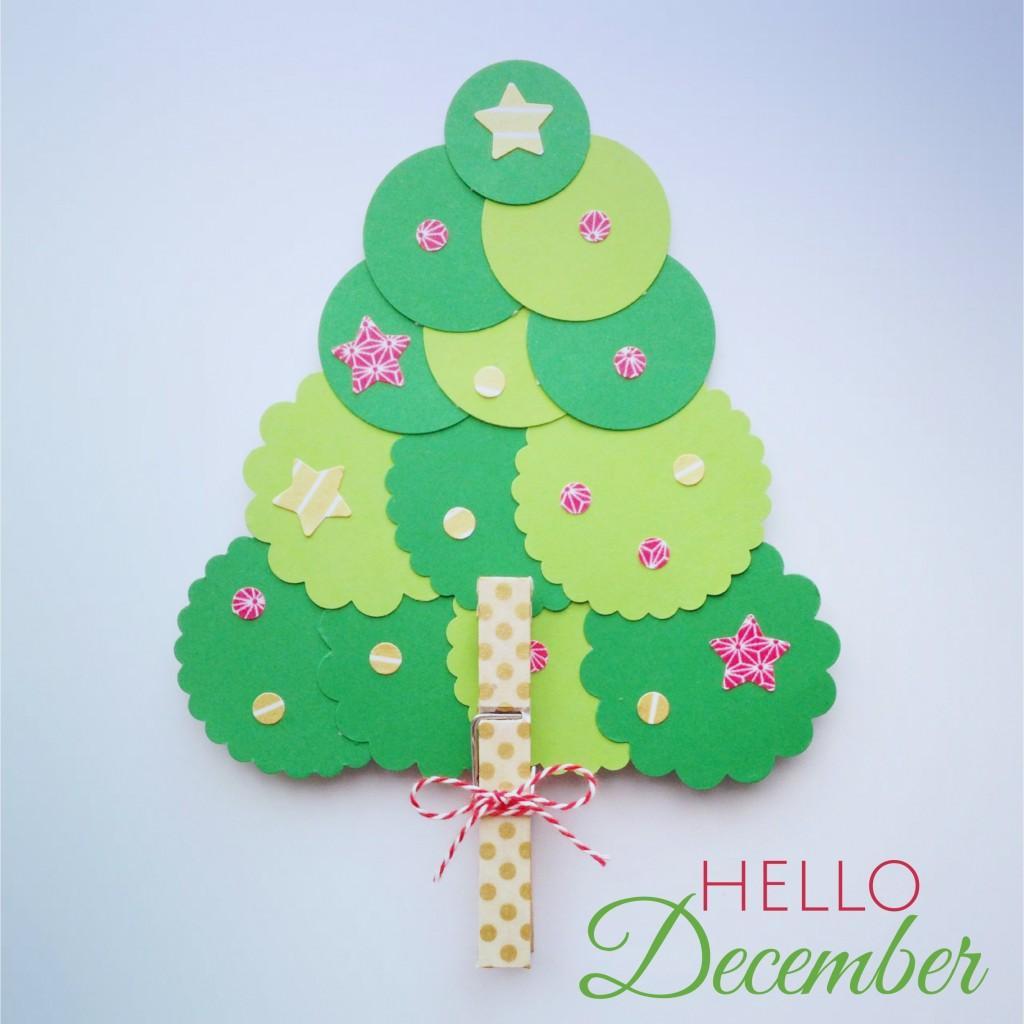 Diy un rbol de navidad f cil f cil para hacer con los - Hacer adornos para el arbol de navidad ...