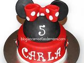 tarta Minnie paso
